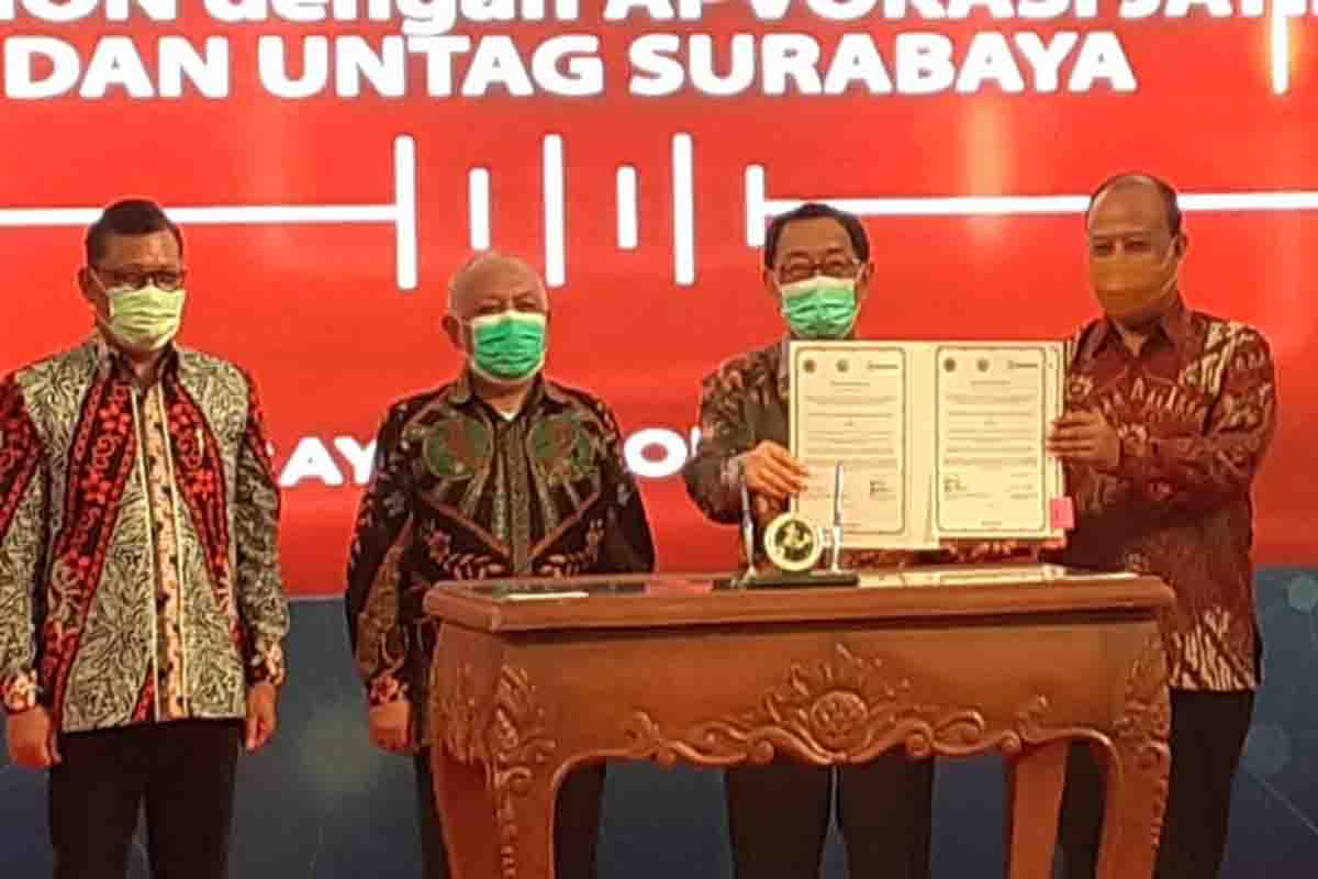 East Java's advocacy, Untag, and Maspion Sign an MoU for ABCG Synergy