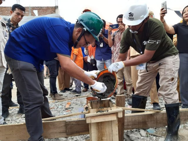 Habitat for Humanity Indonesia Resmikan Program Rehabilitasi dan Rekonstruksi