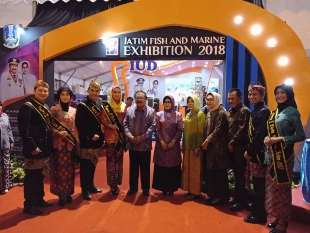 Jatim Fish and Marine Exhibition Dibuka Pak De