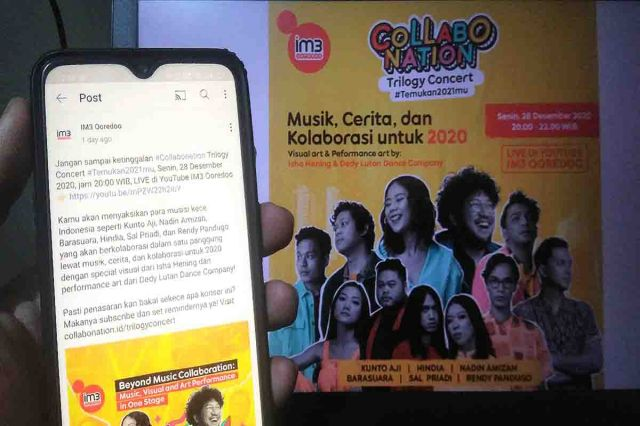 IM3 Ooredoo Gelar Collabonation Trilogy Concert