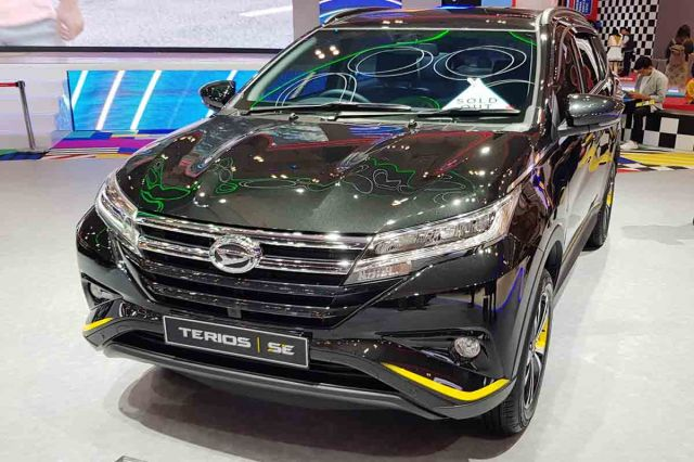 Terios Special Edition Sold Out di GIIAS 2019